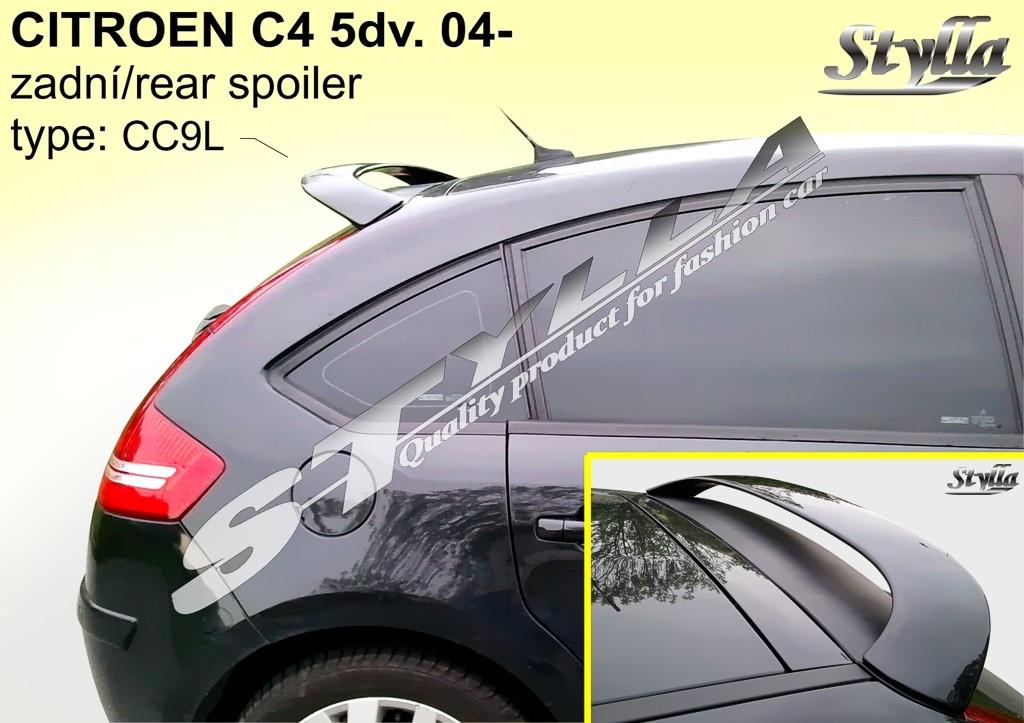Спойлер Citroen C4 (2004-2010) 5 дверей