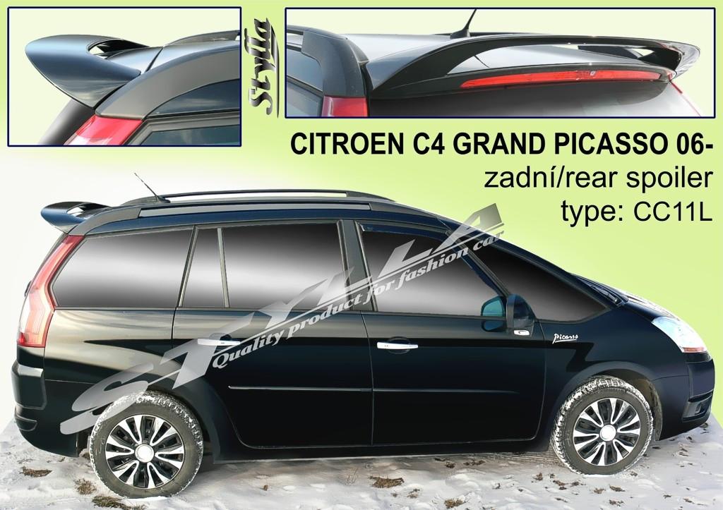 Спойлер Citroen C4 Grand Picasso (2006-...)