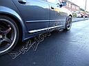 Накладки на пороги Audi A4(B7), фото 3