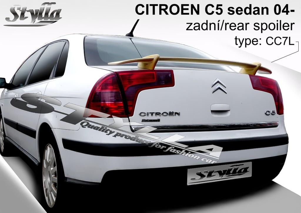 Спойлер Citroen C5 sedan (2004-2008)