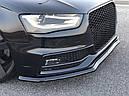 Диффузор переднего бампера Audi S4 B8 Facelift вер.1, фото 3
