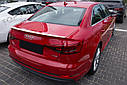 Спойлер (липспойлер) крышки багажника Audi A4 B8 Sedan, фото 3