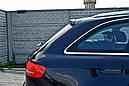 Спойлер крышки багажника Audi A4 B8 Avant дорестайл, фото 5