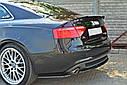 Накладка на спойлер Audi A5 S-Line, фото 2