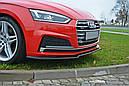 Диффузор переднего бампера Audi A5 F5 S-Line версия 1, фото 3