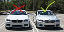Рамка противотуманки BMW F10 М-пакет правая, фото 2