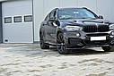 Диффузоры порогов BMW X6 F16 M-pack, фото 3