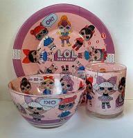 Детская посуда LOL / Детский набор посуды ЛОЛ