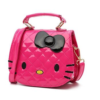 Маленькая детская розовая сумочка для девочки. 2 цвета ДС4  , размер Малый