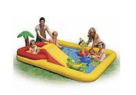 Надувной детский игровой центр - басейн Intex 57454