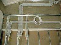 Монтаж открытой проводки до 4 мм