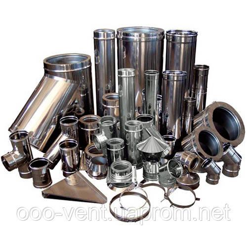 Изделия из оцинкованной стали, воздуховоды, зонты, - ООО «Научно-производственный центр вентиляции и кондиционирования» в Хмельницком