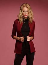 Пиджак женский  кардиган красивый модный черный бордовый мята... 42 44 46 48 50 Р
