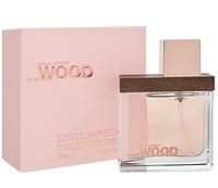 Женская оригинальная парфюмированная вода Dsquared She Wood, 30ml (глубокий, теплый аромат) NNR ORGAP
