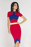Яркое трикотажное платье от производителя