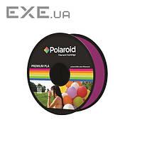 Котушка з ниткою 1.75мм / 1кг PLA Polaroid для 3D принтера, прозорий пурпурний (3D-FL-PL-8022-00)