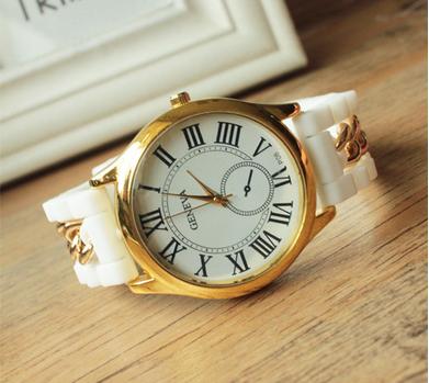 Часы женские силиконовые Classic (Классика)