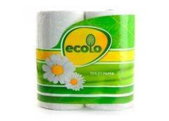 Бумага туалетная Ecolo двухслойная (4) [209131]