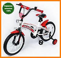 Детский  велосипед 16 дюймов   Tilly Flash, цвет красный