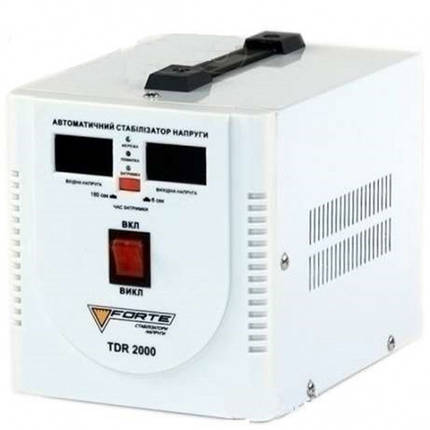 Релейный стабилизатор напряжения Forte TDR-2000VA, фото 2