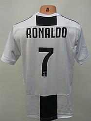 Футбольная форма взрослая/Juventus Ronaldo взрослая чёрно-белая/оригинальная форма Juventus  взрослая/футбол