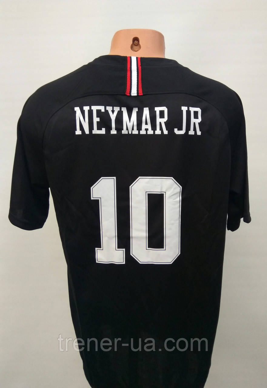 Футбольная форма взрослая PSG Neymar JN в стиле Jordan XL 2018-19 черная
