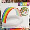 """Детский бассейн """"Веселое облако с радугой"""" INTEX 57141 142х119х84 см, фото 2"""