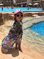 Детская Летняя пляжная туника цветная