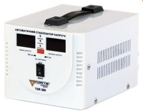 Релейный стабилизатор напряжения Forte TDR-500VA, фото 2