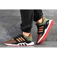 7533e35e Мужские кроссовки Adidas Originals EQT Support 91/18 зеленые с оранжевым  р.41 Акция