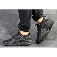 0cc43a08 Мужские кроссовки Nike Air Huarache x Fragment Design черные р.41 Акция -52%