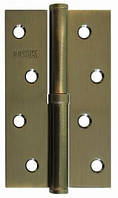 Дверные петли USK 100*63*2.5-1BB L/R старая бронза