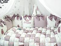 Комплект бортиков в кроватку, фото 1