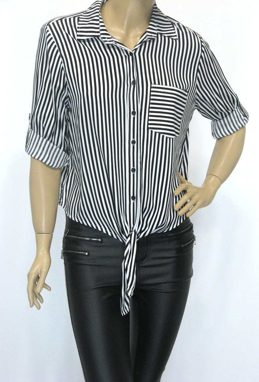 Блуза сорочка в полоску Big Dart
