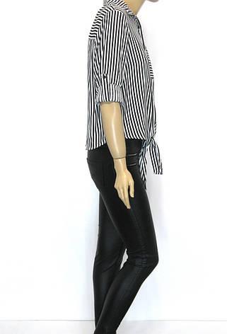 Блуза сорочка в полоску Big Dart, фото 2