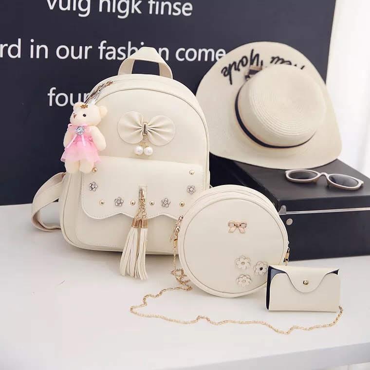 Рюкзак женский Даниэла  в наборе с сумкой