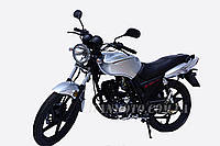 Мотоцикл (Стрит) LF125-9J(Серебристый,Черный)