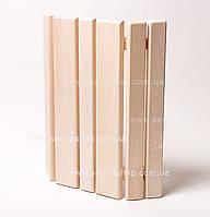 Деревянный абажур для бани и сауны липа
