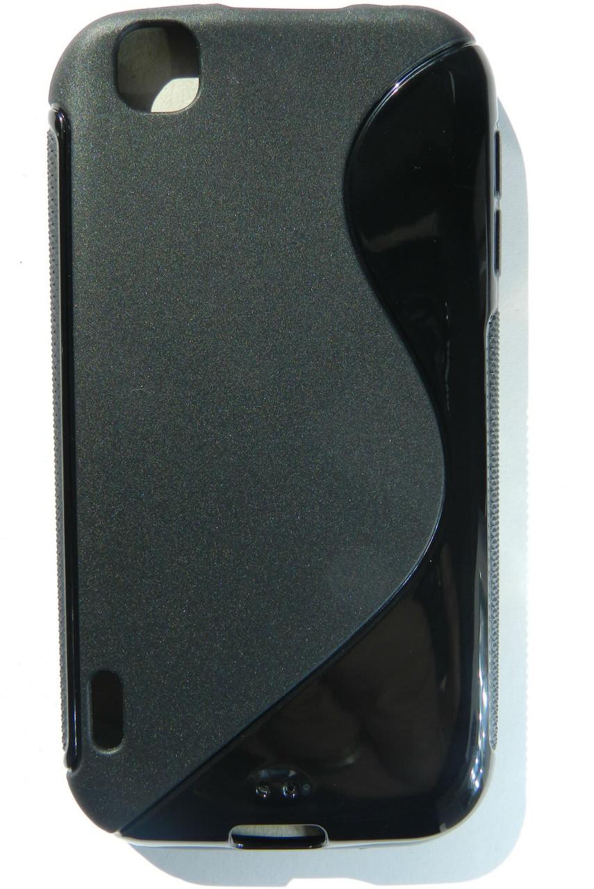 Чехол TPU S формы на LG Optimus Sol E730