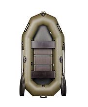 Двухместная надувная гребная лодка Bark В-240С