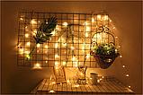 LED гірлянда 8 режимів 10м 100LED тепле світло, фото 8