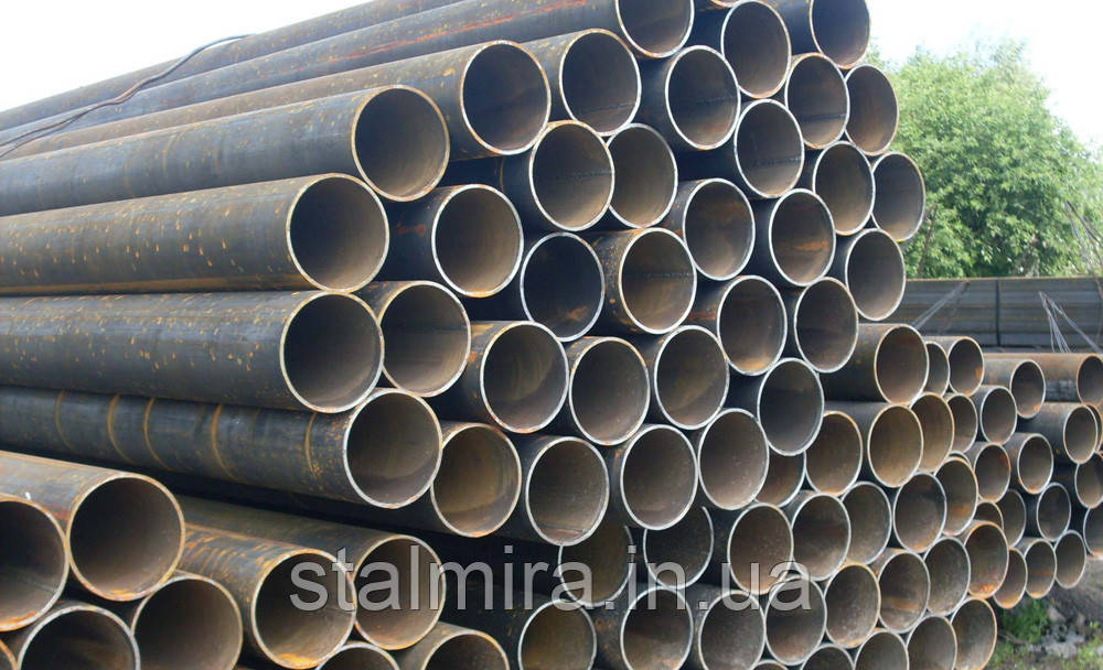 Труба горячекатаная бесшовная тянутая ГОСТ 8732-78,  диаметром 114 х 6 сталь 1-3пс