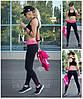 Лосины спортивные, леггинсы для фитнеса модель Klassik с молнией