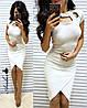 Плаття, тканина:італійський трикотаж з люрексом. Розмір: С,М. Різні кольори (6415), фото 2