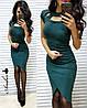 Плаття, тканина:італійський трикотаж з люрексом. Розмір: С,М. Різні кольори (6415), фото 5