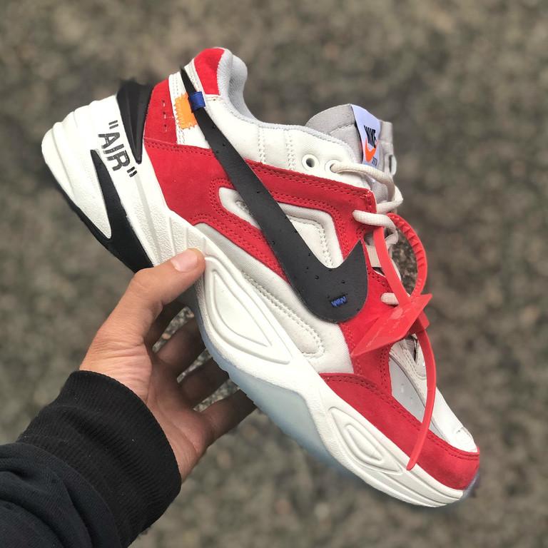 afde0e51 Кроссовки мужские Off-White x Nike M2K Tekno, Найк Техно / Реплика 1:1  Оригинал