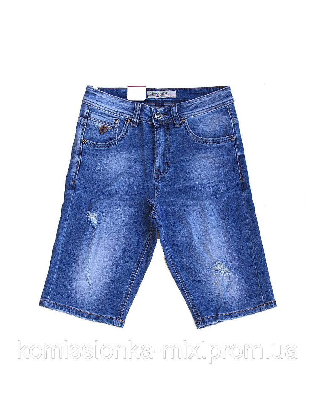 Шорты джинсовые рванки