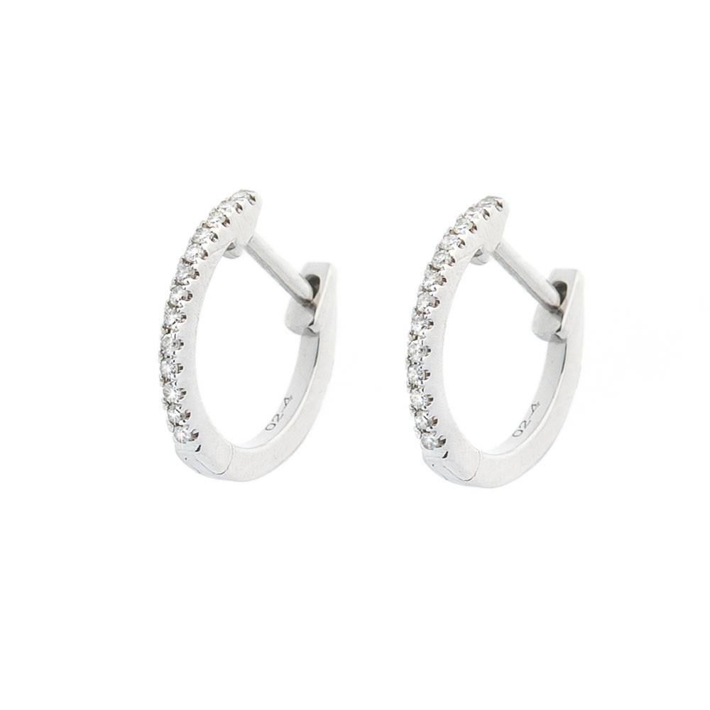 Сережки із золота (діаманти) гсб0148сһ