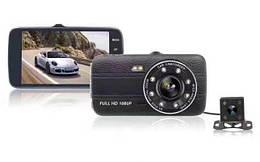 Автомобильный видеорегистратор DVR S19 Full HD + камера заднего вида