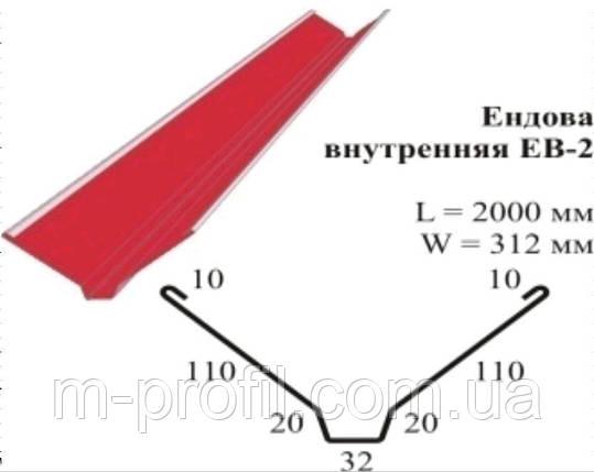 Ендова внутренняя ЕВ-2, фото 2